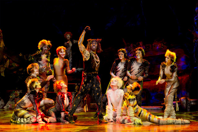 Marcquelle Ward as a newly imagined Rum Tum Tugger in Cats. Photographer: Alessandro Pinna.